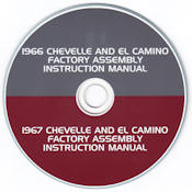 1966-1967 Chevelle & El Camino Factory Assembly Instruction Manual