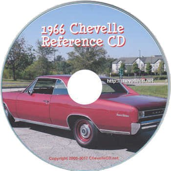 1966 Chevelle Reference CD
