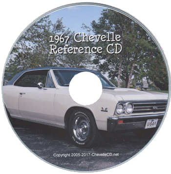 1967 Chevelle Reference CD